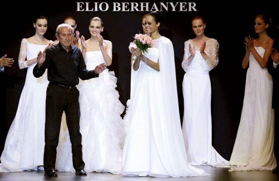 Elio Berhanyer en la Pasarela Cibeles – Novias