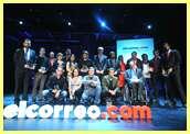 Premiados en los premios elcorreo.com a las mejores webs vascas