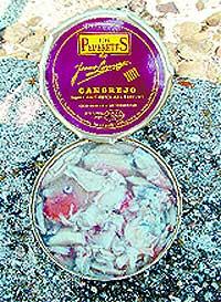 Cangrejo y huevas Los Peperetes