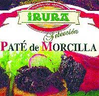 Paté de morcilla Irura selección