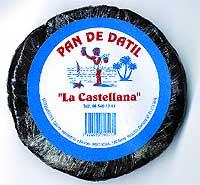 Pan de dátil con almendras La Castellana