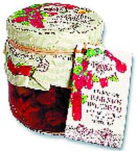 Delicias de pimientos de ctristal Rosara