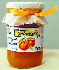 Mermelada de mandarina Jalancina