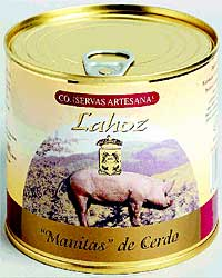 Manitas de cerdo LaHoz