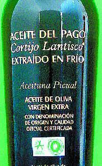 Aceite de oliva del Pago Cortijo Lantisco
