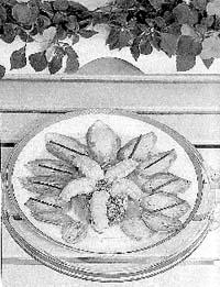 Ensalada de cigala y aguacate