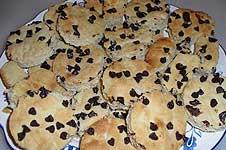 Receta de galletas de mantequilla con chocolate