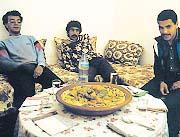 Galletas de pan hindú