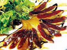 Ensalada de jamón de pato