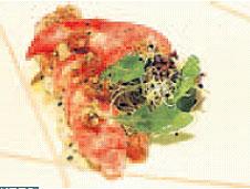 Ensalada de Bogavante con tartare de manzana