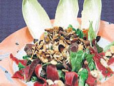 Entenbrust-salat, ensalada de pato