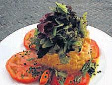 Ensalada de patata alavesa con mejillones