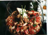 Salpicón de anchoas y ventresca
