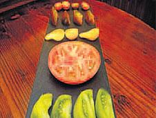 Ensalada de tomates ecológicos